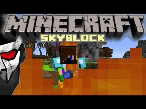 Minecraft Skyblock - First PVP Kill! #16