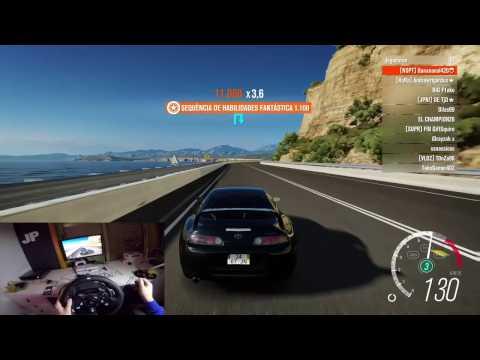 Forza Horizon 3 - Wheel Cam | Logitech g920 - Toyota Supra