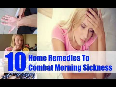10 Top Home Remedies To Combat Morning Sickness