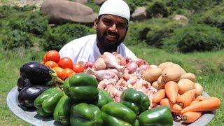 Arabian dish chicken maqlooba traditional recipe    Nawabs kitchen