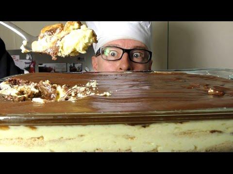 GIANT CHOCOLATE ECLAIR DESSERT