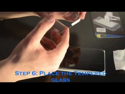 How to change a tempered glass iPhone 6
