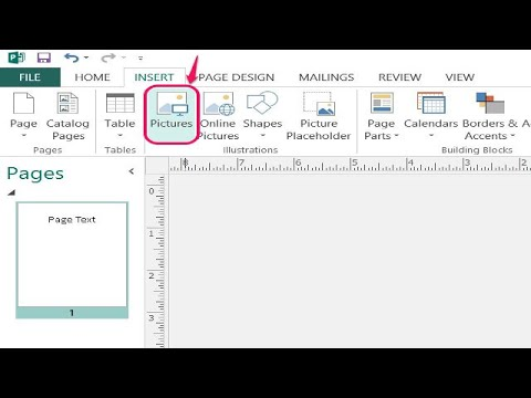 How to Make a Faded Picture Background in Microsoft Publisher