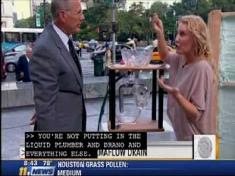 PermaFLOW - No Clog Drain/Sink P-Trap on CBS News - The Early Show