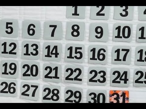 Quilted Wall Calendar