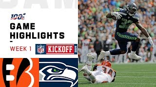 Bengals vs. Seahawks Week 1 Highlights | NFL 2019