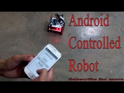 Arduino || Robot Car controlled by Android Mobile Via Bluetooth
