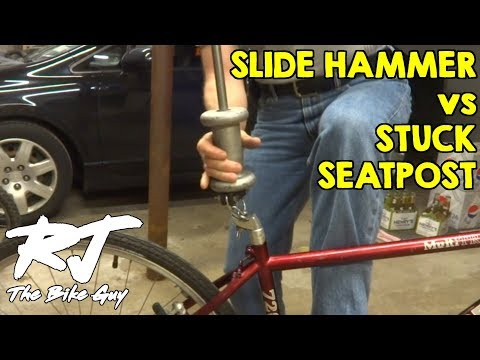 How To Remove Stuck Seatpost In Minutes With Slide Hammer
