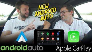 NEW 2019 Android Auto VS Apple Carplay - REAL WORLD TEST