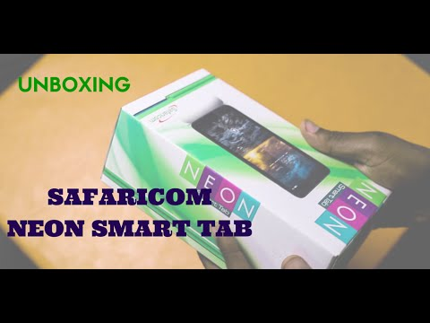 Unboxing the Safaricom NEON SmartTab Kenyan Review