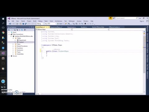 N-Tier Architecture Using Entity Framework Code First For Existing Database - Part 1