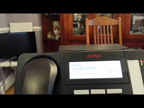 Avaya IP office set your name and passcode in embedded voicemail