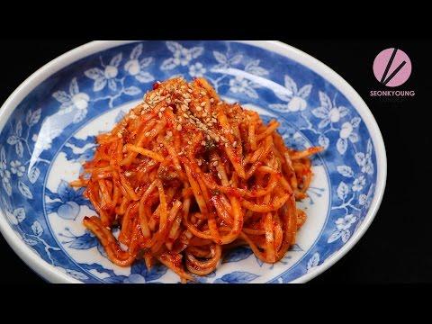 Korean Radish Banchan