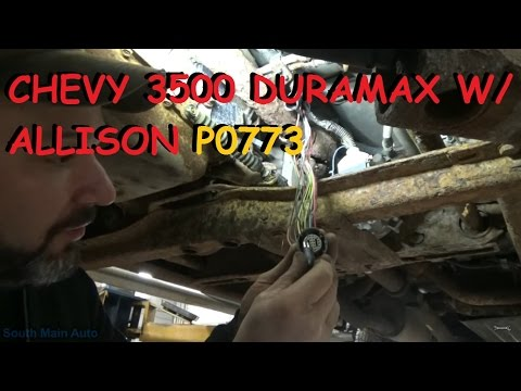 Chevy Duramax w/ Allison Automatic - Shifting Trouble P0773