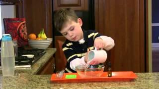 Montessori Practical Life Lesson - Bubble Making