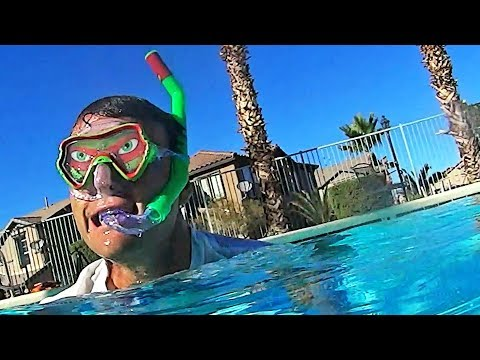 Swimming With My Ninja Turtles Mask and Snorkel ! || Toy Review || Konas2002