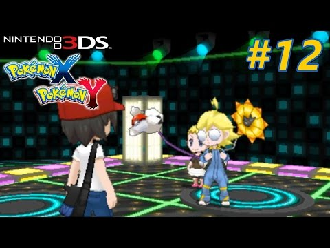 Pokémon X and Y - Playthrough Nintendo 3DS PART 12 (Lumiose City Gym / Route 14)