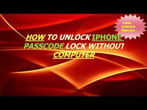 how to unlock iphone 5c passcode lock without computer,how to unlock iphone 5c ,cool iphone tricks