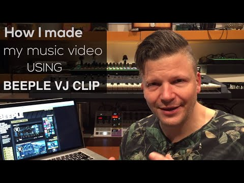 How to make your own music video using Beeple VJ Clips