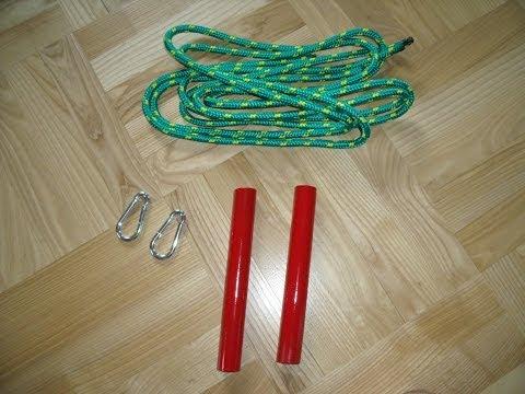 How to make gymnastic rings /bars. Calisthenics & Street Workout