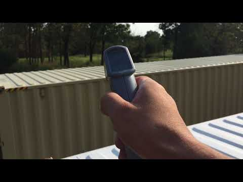 Reflective Roof Paint on Shipping Container - Part 2