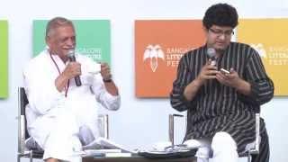 #BlrLitFest -2013 | Gulzar and Prasoon Joshi: Aao Phir Nazm Kahein