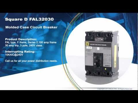 Square D FAL32030 Molded Case Circuit Breaker