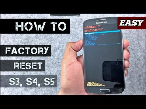 HOW to Factory reset Samsung Galaxy S3, S4, S5, [2018]