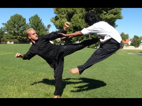 Real Kung Fu Fighting, part 1