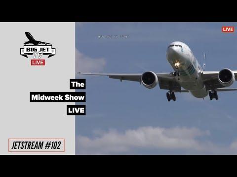 JETSTREAM #102: The Midweek Show LIVE! [9/5/18]. London Heathrow Airport