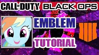 Call of Duty: Black Ops 4 - Emblem Tutorial - My Little Pony