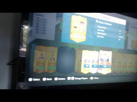 FIFA 14 • Strange Contract And Fitness Glitch •