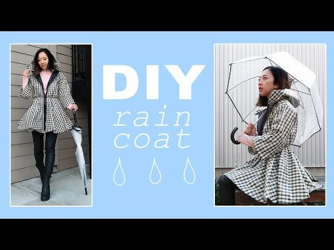 DIY Light Raincoat | Made from Scratch