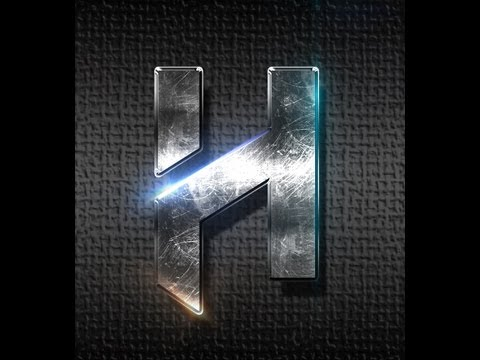 Tutorial: Metallic text and flares photoshop | HAD3Sdesigns tutorial