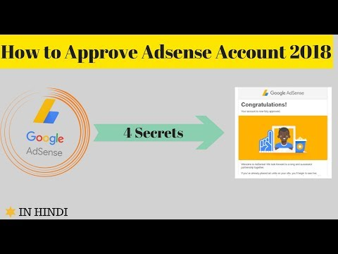 How Approve  Adsense Account {Easily}--My Secret  Tips || 2018