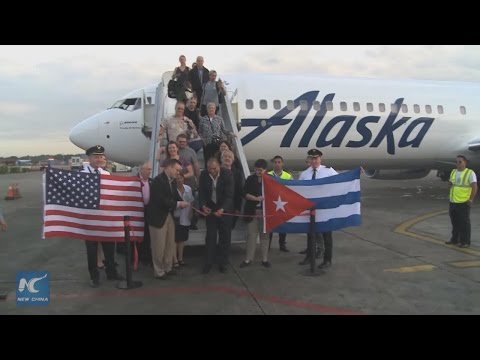 U S  West Coast commercial flights to Cuba launched by Alaska Airlines