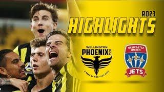 HIGHLIGHTS | Wellington Phoenix vs Newcastle Jets