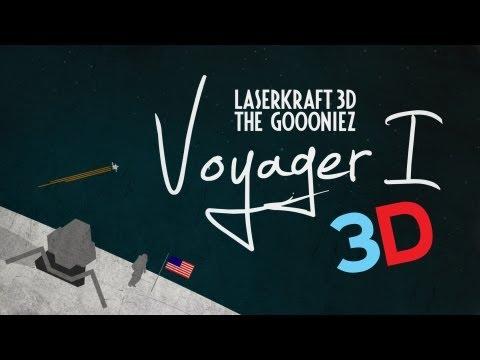 Laserkraft 3D & The Goooniez - Voyager 1 (3D Version) (official Video)