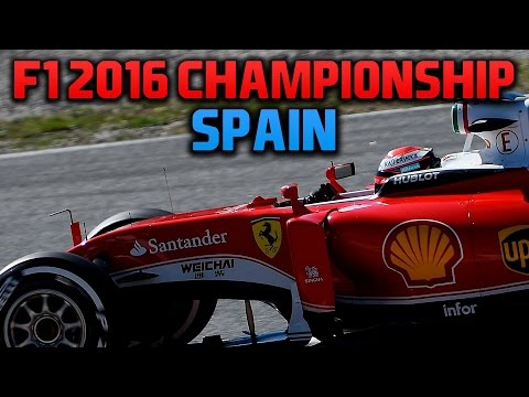 rFactor F1 2016 NRL - Round 3 - Spanish Grand Prix