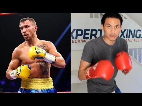 Vasyl Lomachenko - 7 Southpaw Boxing Footwork Tricks