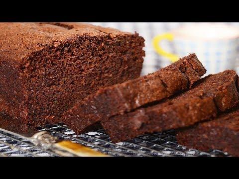 Chocolate Zucchini Bread Recipe Demonstration - Joyofbaking.com