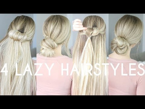EASY LAZY DAY HAIRSTYLES (heatless)