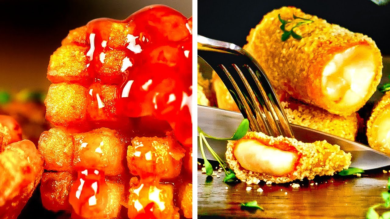 Amazing Food Frying Ideas    Mouth-Watering Treats For Special Occasions!