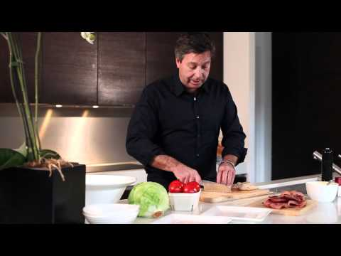 John Torode and the perfect Club Sandwich