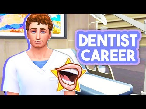 DENTIST CAREER👨⚕️ // THE SIMS 4 | MOD OVERVIEW