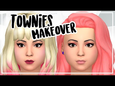 TOWNIES MAKEOVER CANDY BEHR | SIMS 4 CAS