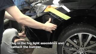 Episode 206 2012 Honda Civic 4dr Fog Light Kit Installation