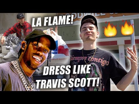 HOW TO DRESS LIKE TRAVIS SCOTT IN THE THRIFT! Challenge | Trip to the Thrift!