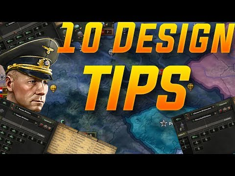 10 Tips for Designing a Division Template in Hoi4 (Hearts of