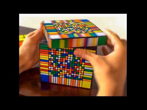 he solved this rubik's cube in 3 seconds...